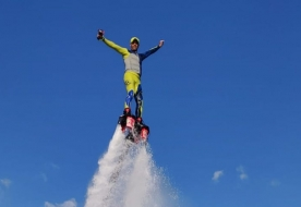 Water Sport Holiday in Sicily - Flyboard