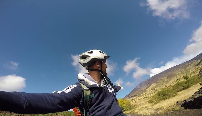 etna mtb biking in sicily