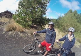 cycling in sicily how to visit etna biking in sicily
