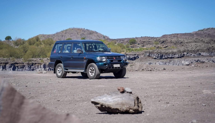 Jeep e trekking Etna