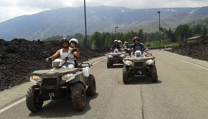 quad etna - etna volcano tours