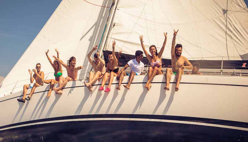 sailing aeolian islands