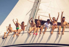 sailing aeolian islands -