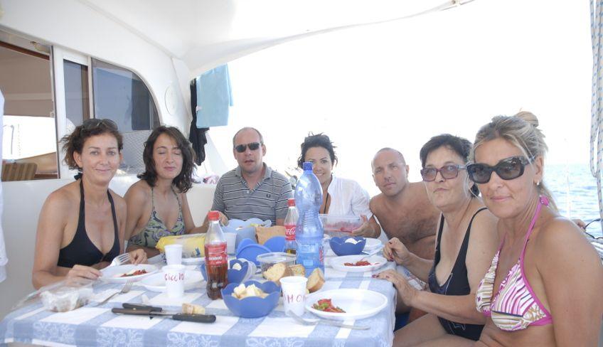Sicily boat trips - sailing sicily