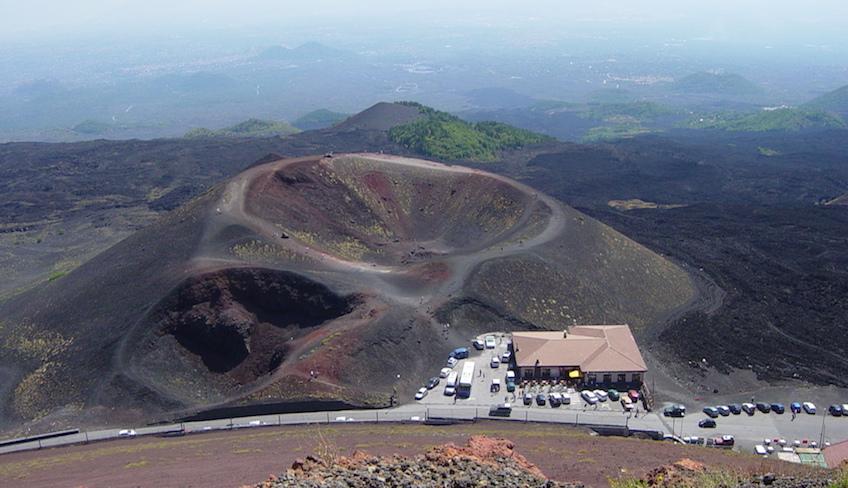 catania etna visitare l'etna in auto visita sull'Etna