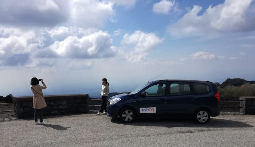 catania to etna - visiting mount etna by car