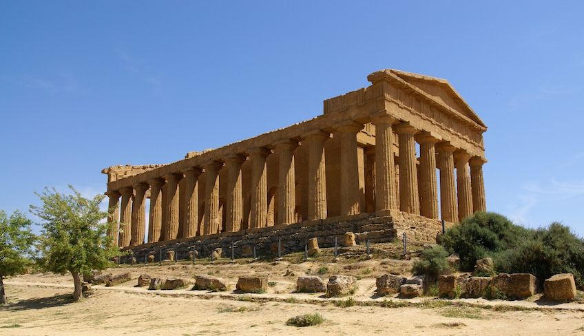 catania to agrigento - day trips from catania