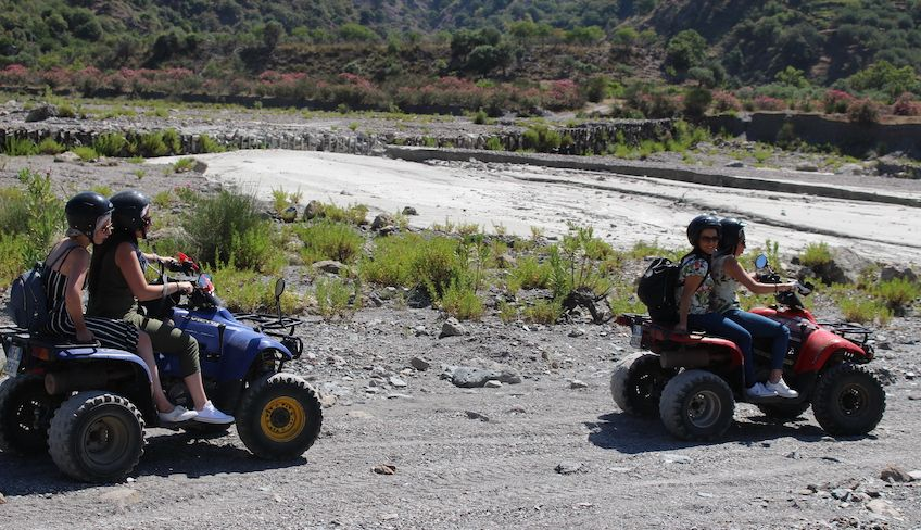 Etna quadbiking - quad sport Sicily