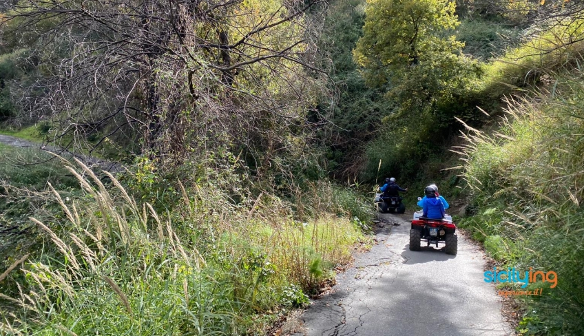 Quad tour Alcantara
