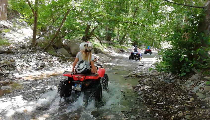Sport & Adventure Holiday in Sicily -Etna quadbiking
