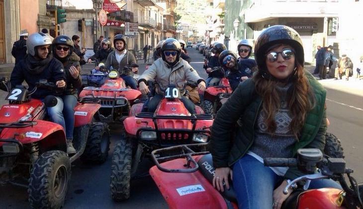 Sport & Adventure Holiday in Sicily -Etna quadbiking