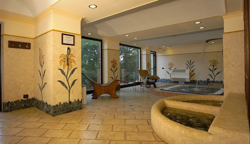 hotel zafferana etnea - centro benessere etna