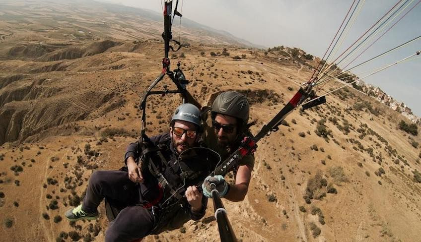 Paragliding in Sicily -